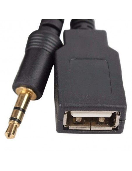 USB AUX адаптер для штатной магнитолы Toyota, Lexus 6x6 pin
