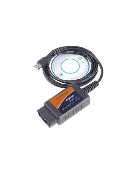 ELM327 OBD2 USB диагностический сканер