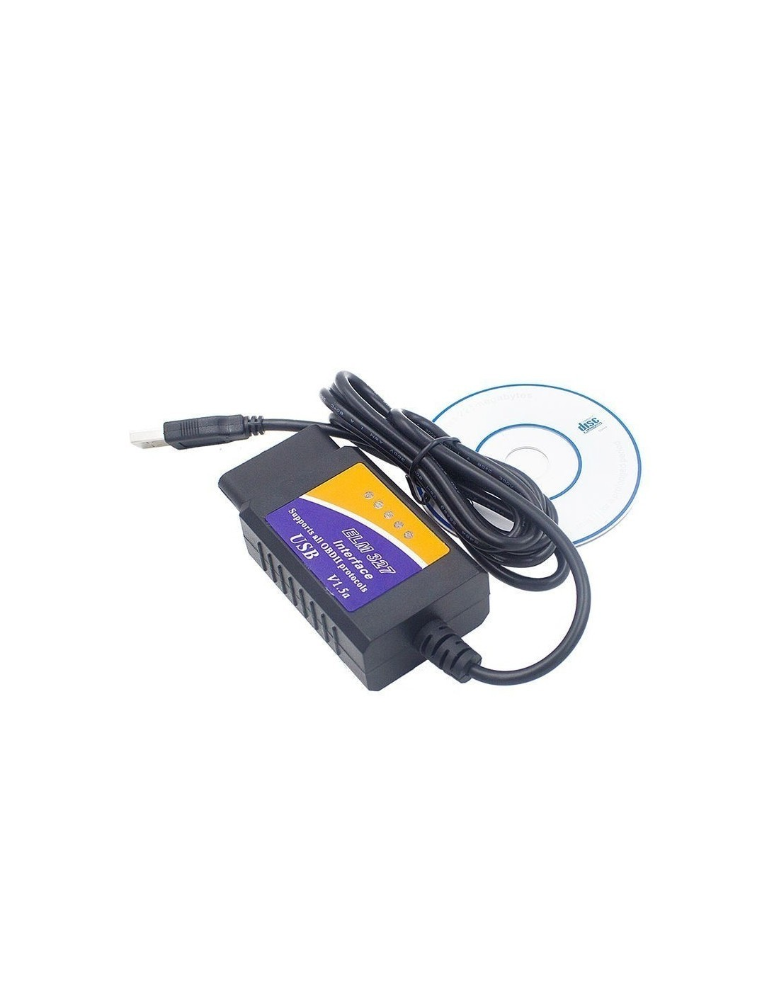 Купить ELM327 OBD2 USB диагностический сканер