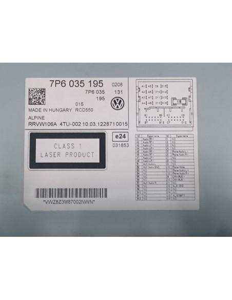 Штатная магнитола Volkswagen RCD550