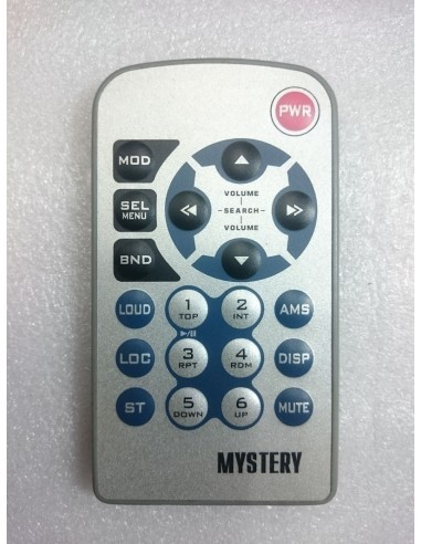 Пульт для автомагнитол Mystery - MCD-777MP / MCD-598MPU