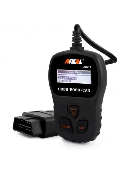 Диагностический сканер Ancel AD210