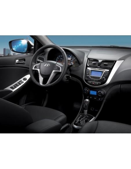 Переходная рамка 2Din Hyundai Solaris 2010+
