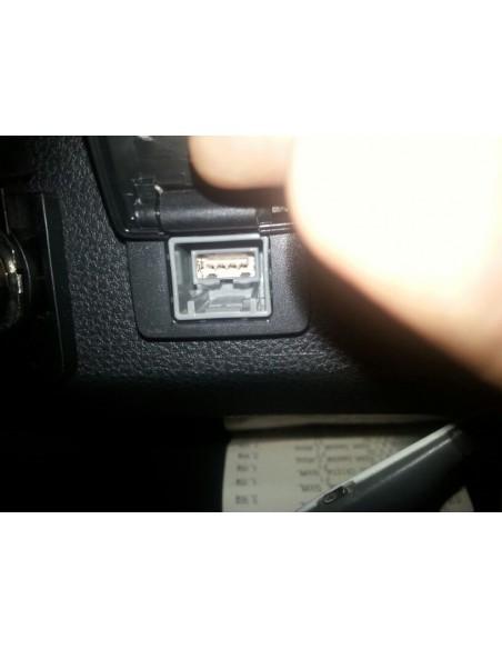 USB к магнитоле Mitsubishi ASX