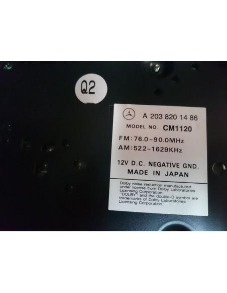Штатная магнитола на MERCEDES-BENZ C-CLASS W203.061