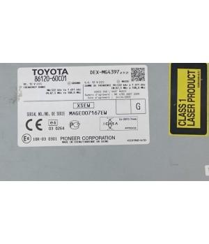 Штатная магнитола Toyota 86120-60C01