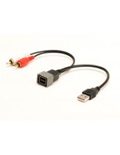 USB AUX переходник Nissan, Lada (обратный)