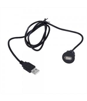 USB разъем в заглушку универсальный