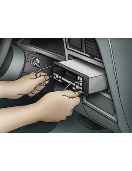 Ключи для магнитолы Blaupunkt, Philips, Opel, Ford
