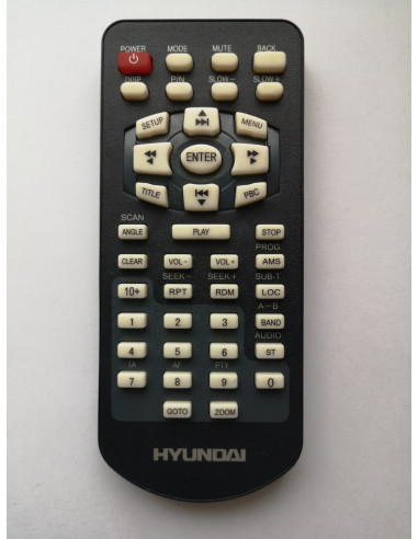 Пульт для автомагнитолы Hyundai H-CMD4007