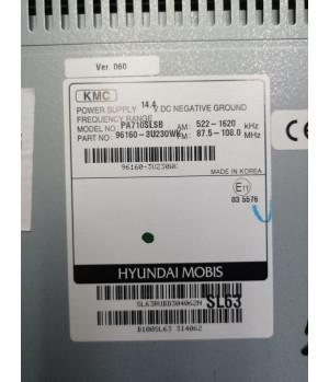 Штатная магнитола KIA PA710SLSB