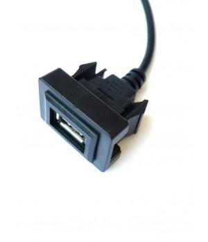 USB разъем в штатную заглушку для Toyota