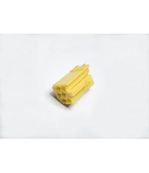 Разъем mini iso желтый с клеммами