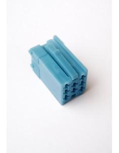 Разъем mini iso синий с пинами 2