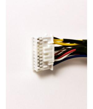 Линейный выход 9 RCA 20 pin