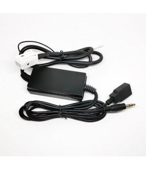 AUX USB адаптер на Volkswagen 12 pin
