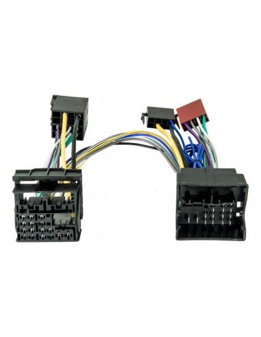 Кабель с iso адаптером для штатной магнитолы VAG Quadlock MQB