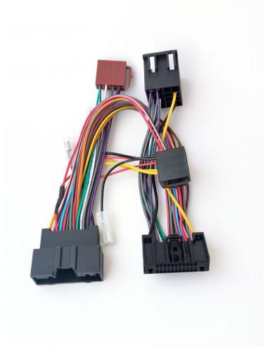ISO адаптер для штатной магнитолы Ford c 2010 (для усилителя)