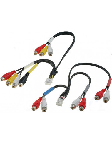 Разъем RCA ALpine 2 провода 10pin и 12pin