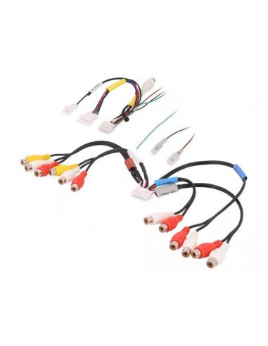 Разъем RCA Alpine набор 2 провода 20pin и 14pin