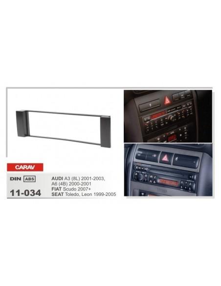 Переходная рамка Audi, Fiat, Seat 2000+