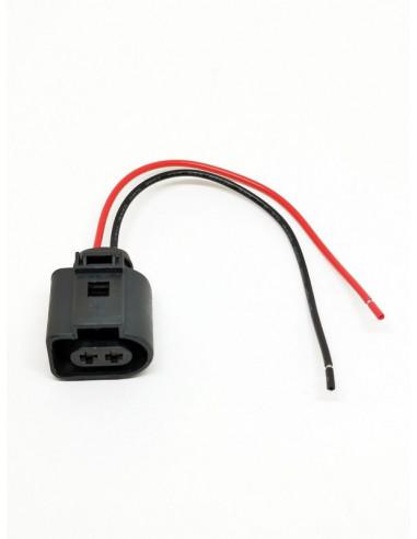 Разьем 2-х контактный VAG на Audi, Seat, Skoda, VW