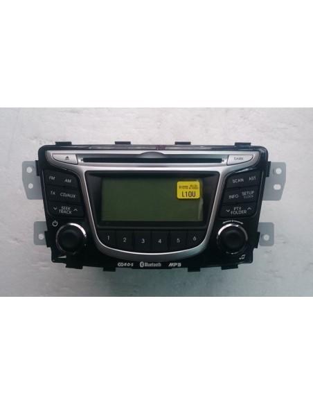 Штатная магнитола Hyundai PA710RBRBT_GU