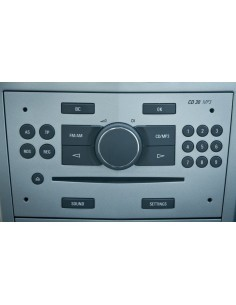 Opel CD 30 MP3 silver
