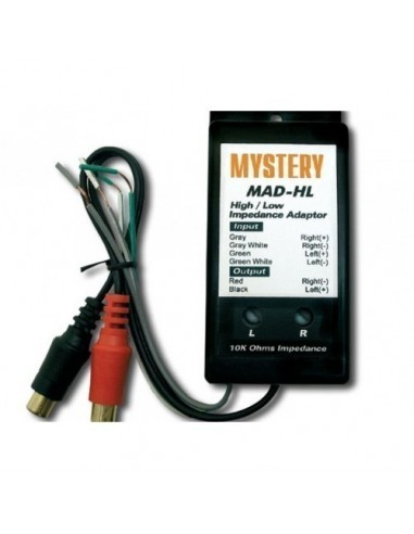2-канальный преобразователь уровня сигнала Mystery MAD-HL