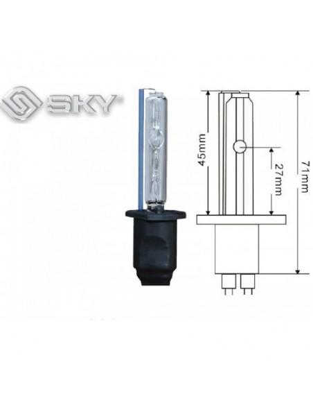 Лампа ксенон H1 6000K SKY