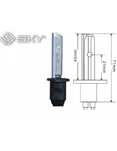 Лампа ксенон SKY H1 5000K