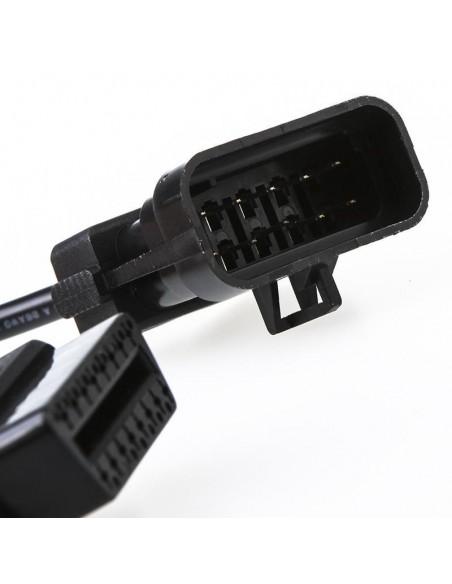 Диагностический переходник OBD2 Opel 10 pin