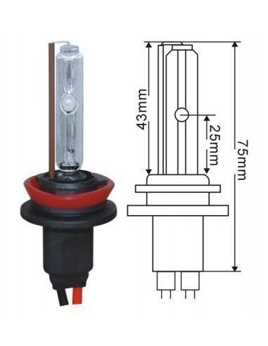 Лампа ксенон H11 6000 K SKY