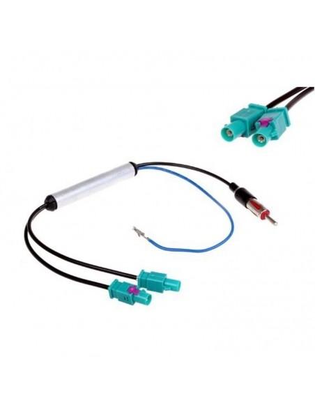 Переходник для антенны фольксваген двойной разъем
