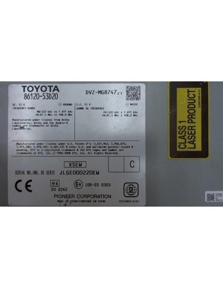 Toyota 86120-53D20