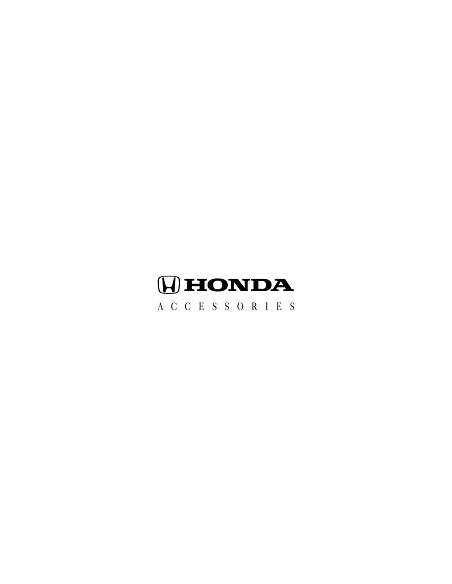 HONDA Accessory